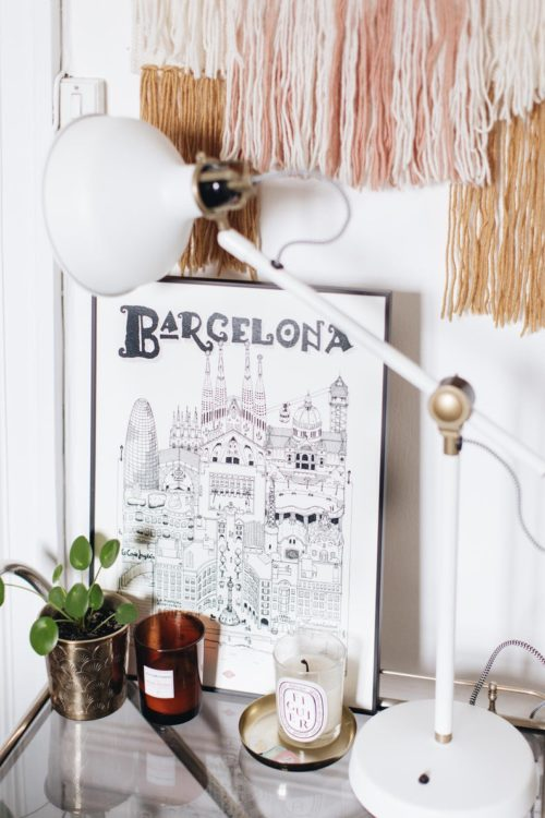 affiche barcelone